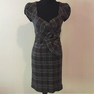 Nanette Lepore plaid wool dress 2